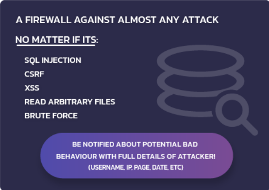 Firewall protection- Hide My WP