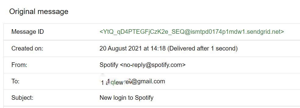 email header- show original