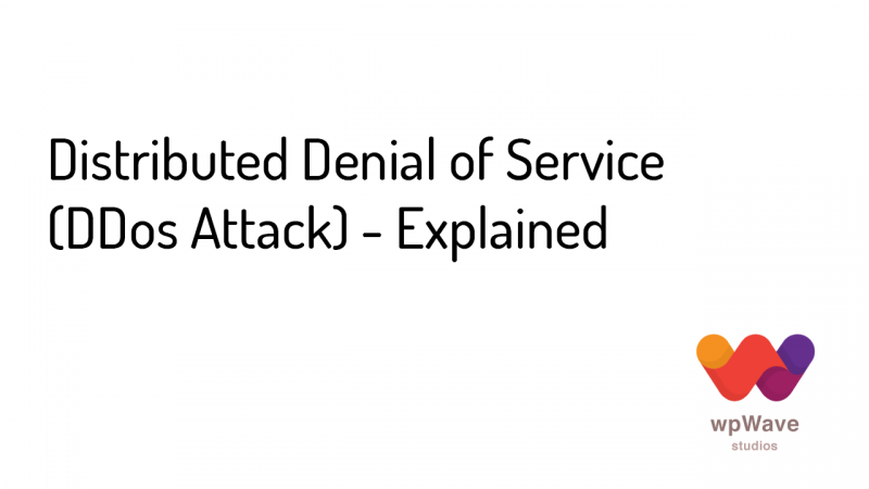 Distributed Denial of Service (DDos Attack) - Explained - Banner