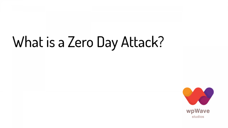 What is a Zero Day Attack - Banner