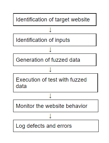 What is fuzz testing- flow chart